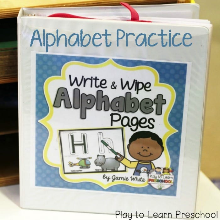 Alphabet Write & Wipe