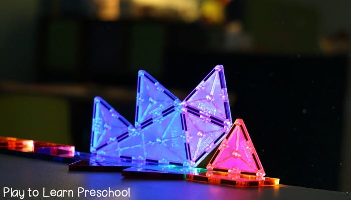 Magna Tiles in Light