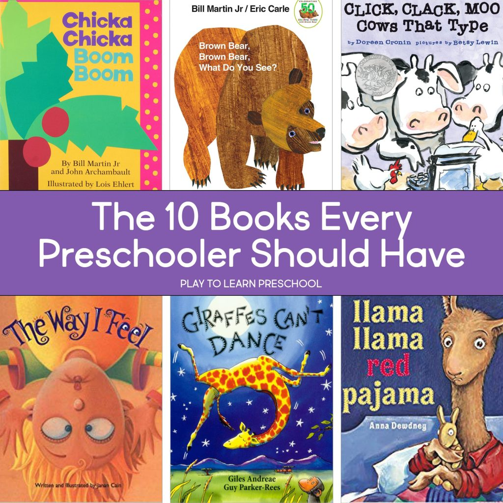 10 Books Every Preschooler Should Have