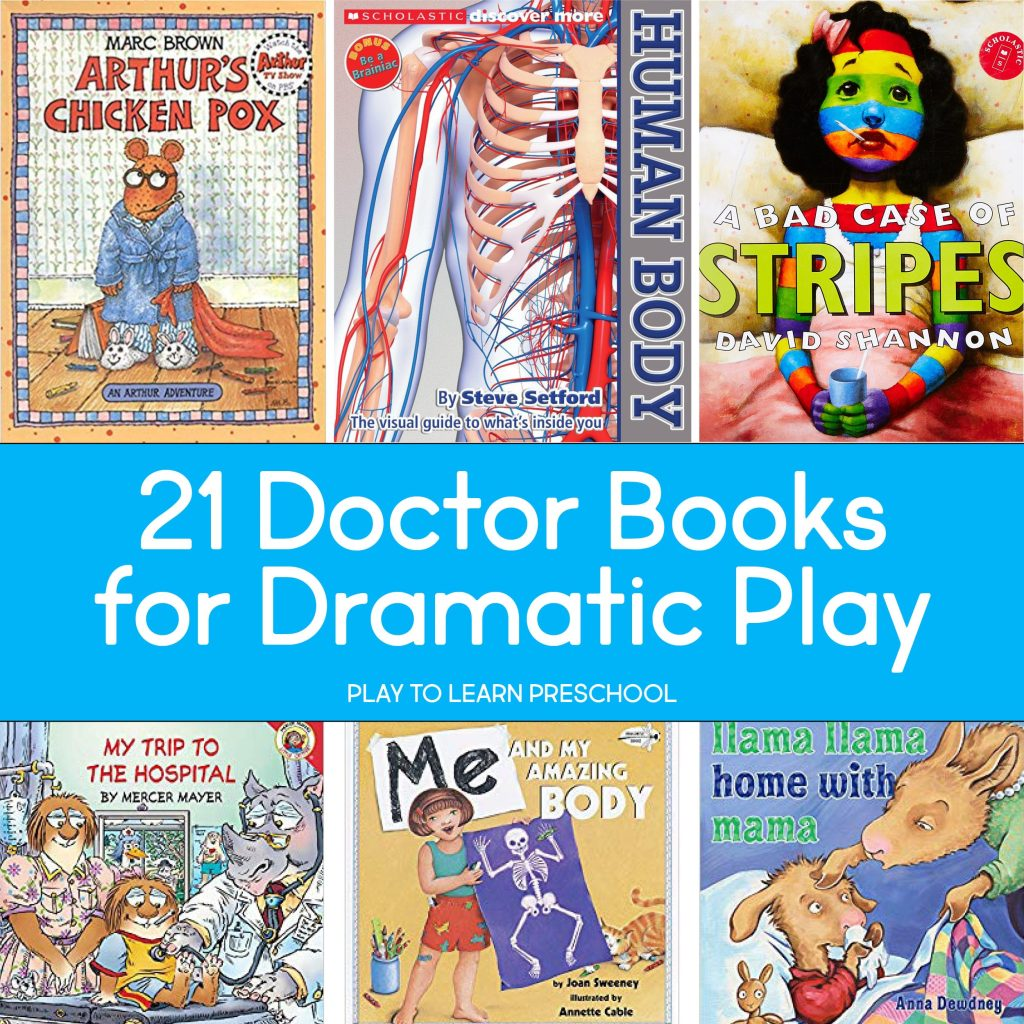 Doctor Dramatic Play Picture Books for Preschoolers