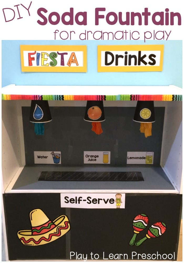 Soda Fountain Dramatic Play