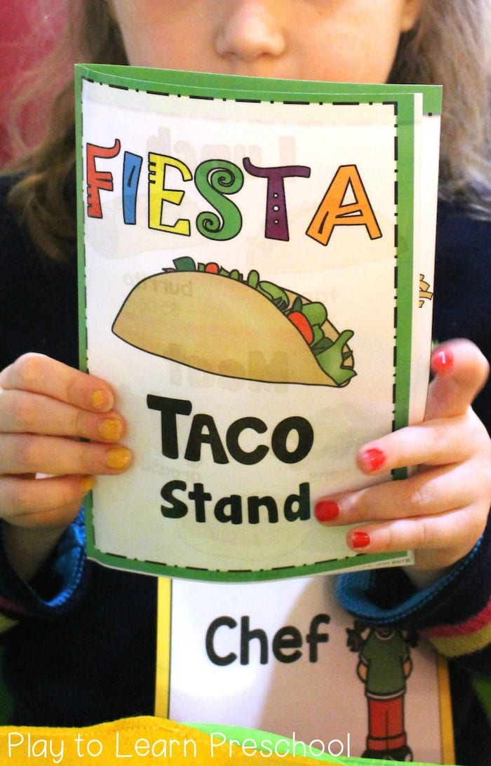 Taco Stand Dramatic Play