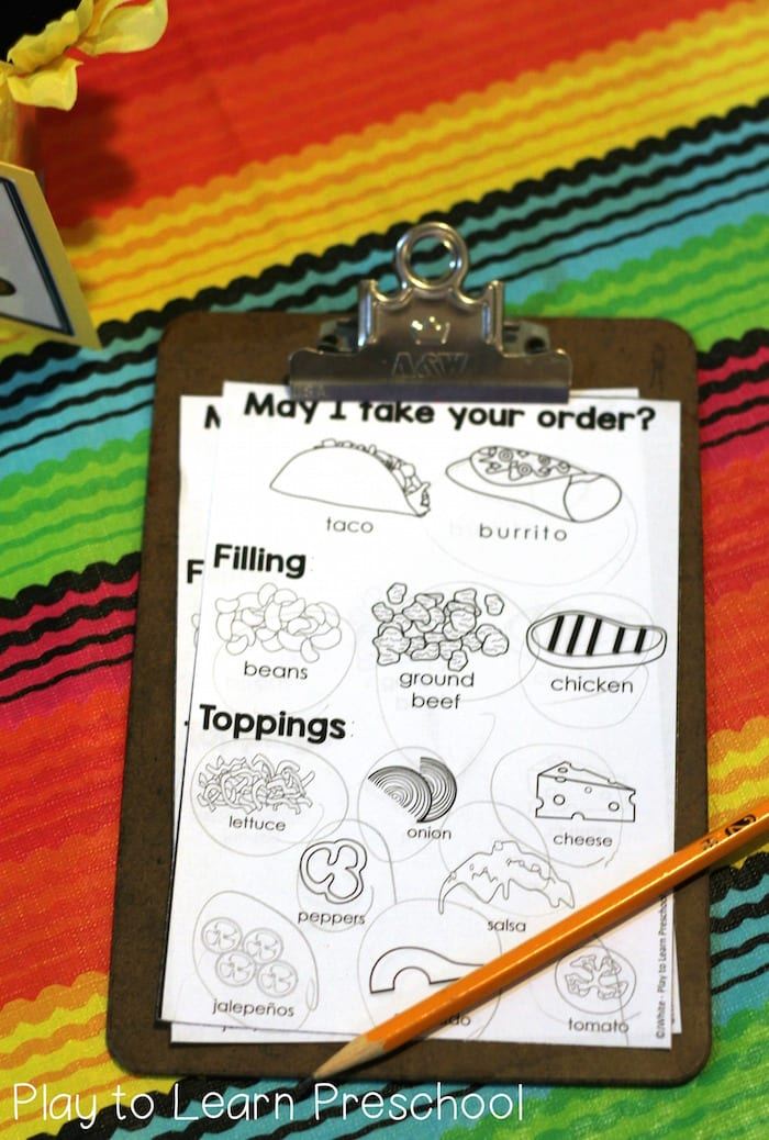 Taco Dramatic Play A Spicy Restaurant Center