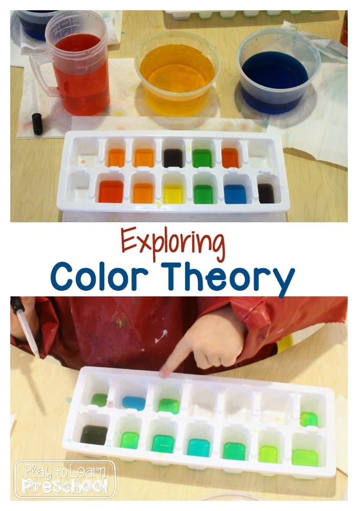 Color Theory with Preschoolers