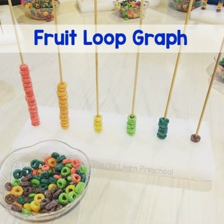 Fruit Loop Graph and Fine Motor Practice