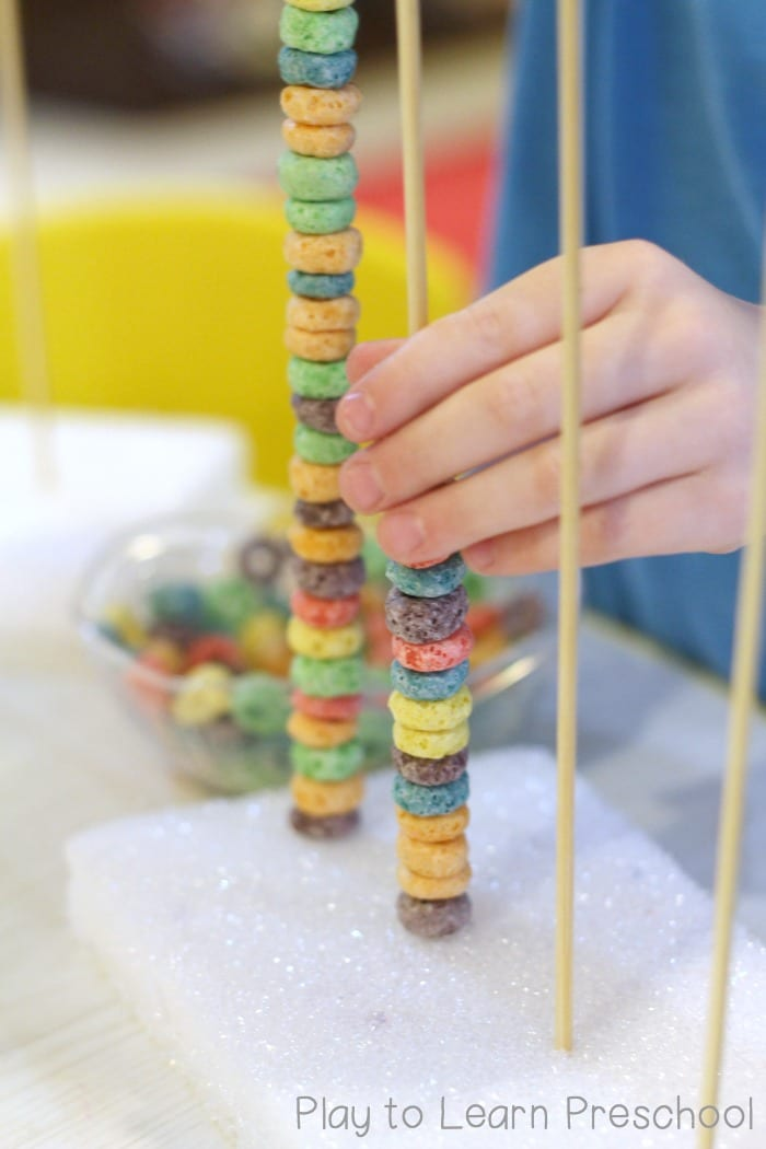 Fruit Loop Fine Motor