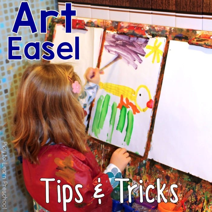 Art Easel tips