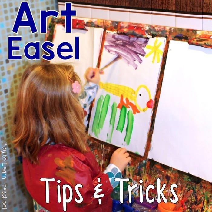 Art Easel tips