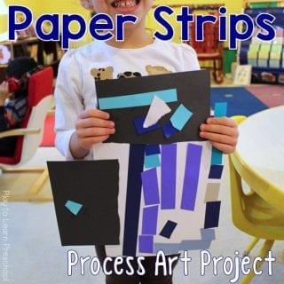 Art Paper Strips