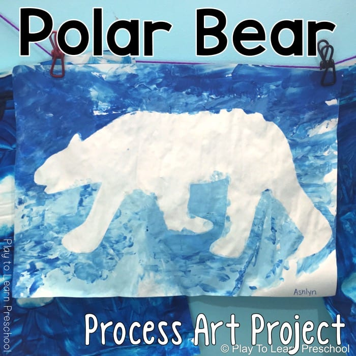Process Art Polar Bear
