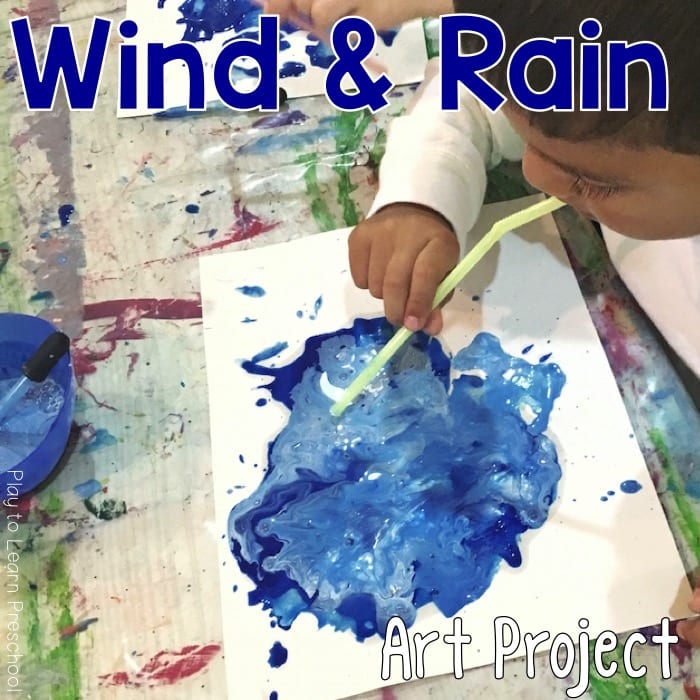 Wind & Rain Process Art