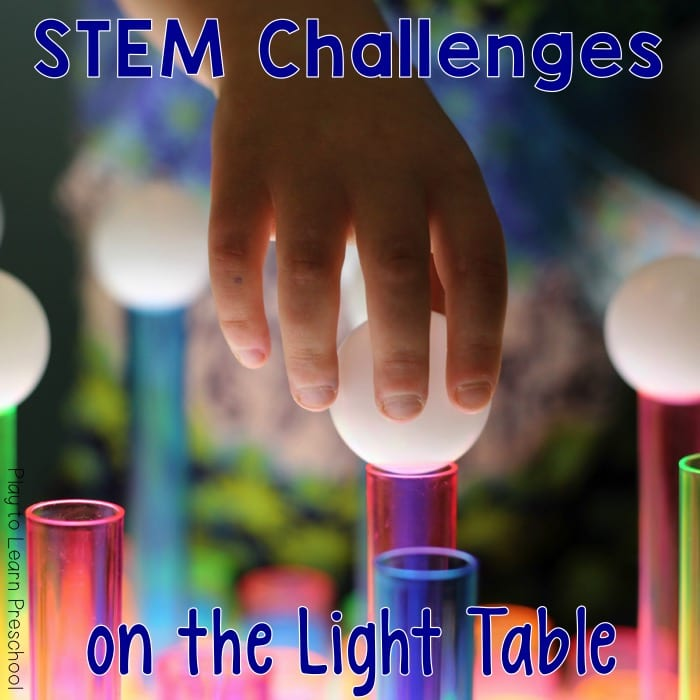 Light Table Building Challenge