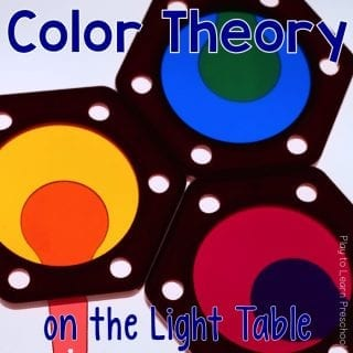 Light Table Color Theory
