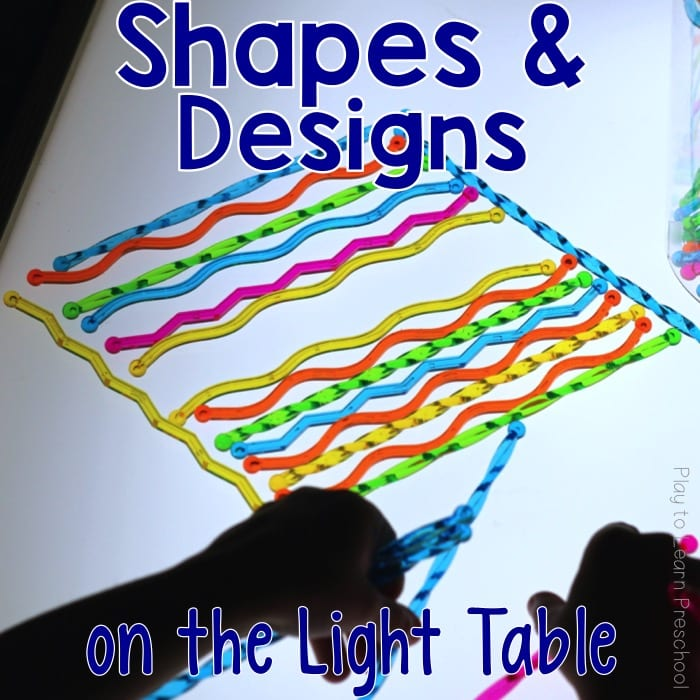 Light Table Shapes and Designs