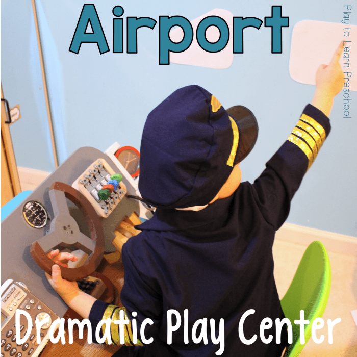 Dramatic Play Airport