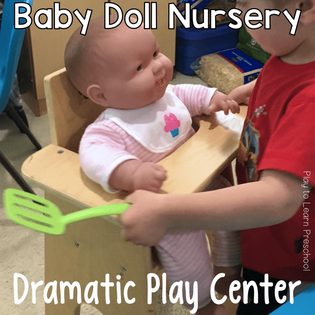 Dramatic Play Baby Doll Nursery
