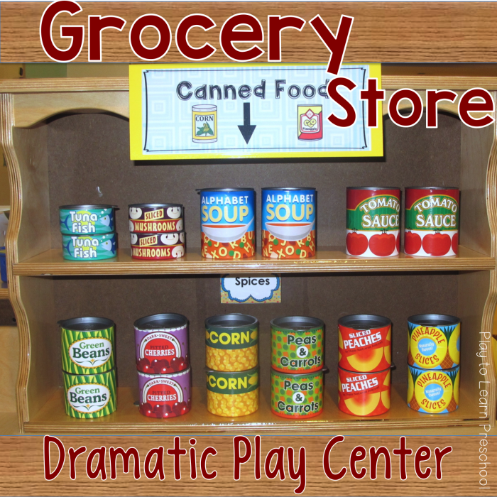 Dramatic Play Grocery Store