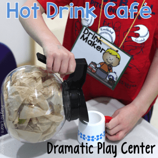 Dramatic Play Hot Drink Cafe