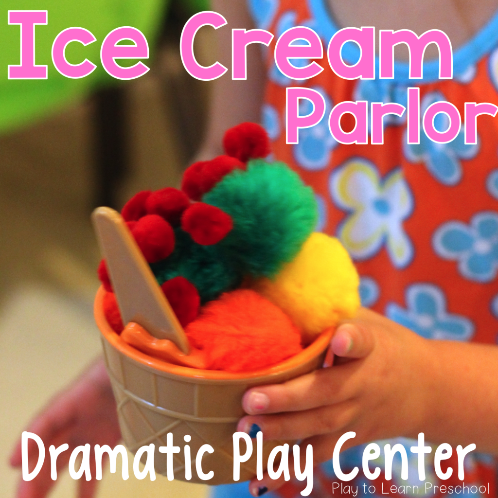 Ice Cream Parlor Dramatic Play