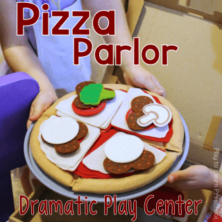 Dramatic Play Pizza