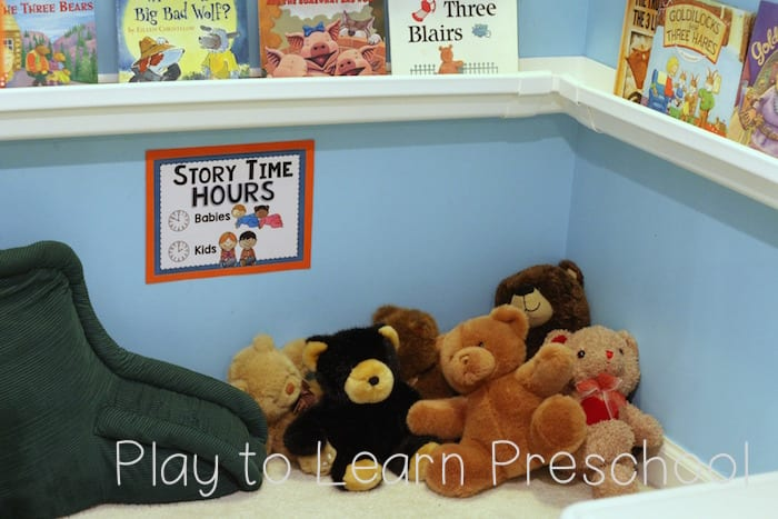 Library Dramatic Play Story Time