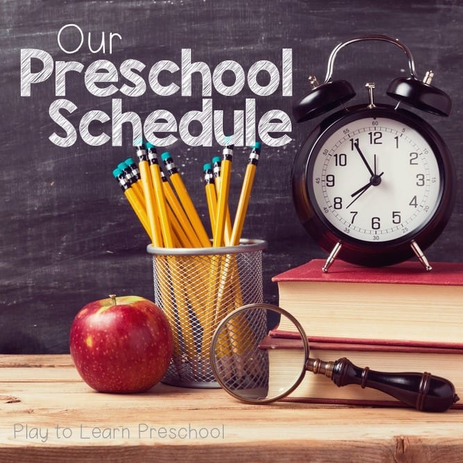 Our Half-Day Preschool Schedule