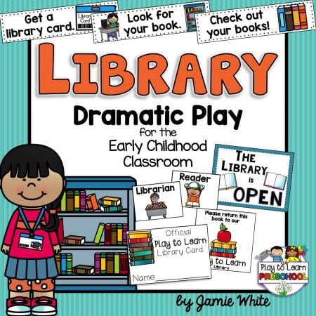 Library Dramatic Play Center