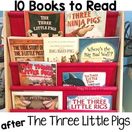 Three Pigs Books for Preschoolers