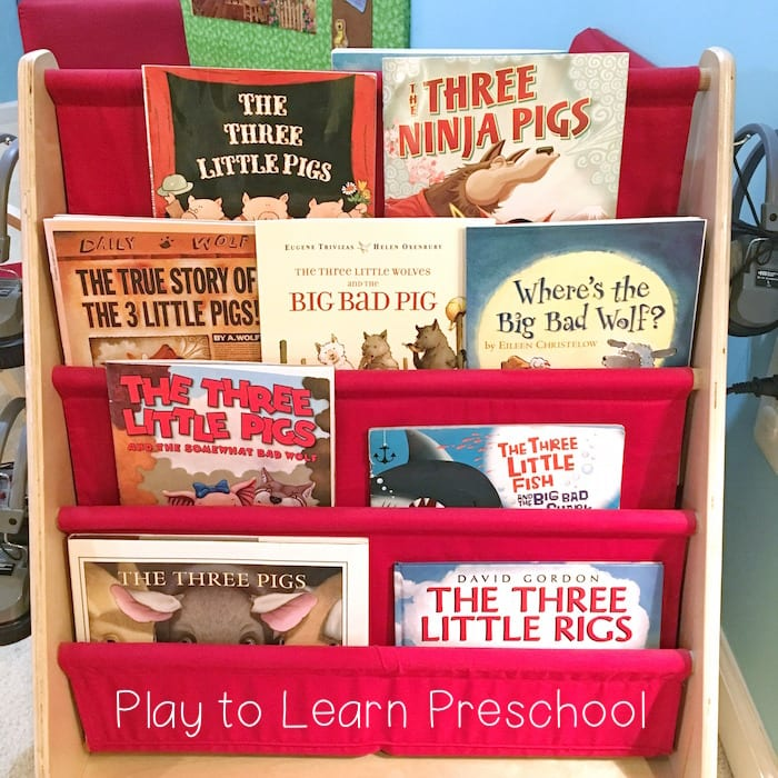 Three Little Pigs Books for Preschoolers