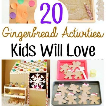 Gingerbread Activities