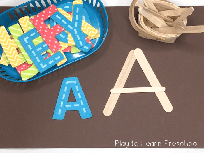 Ways to teach the alphabet