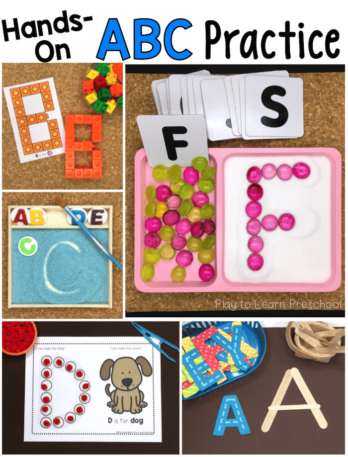10 Ways Practice Alphabet on Magnetic Letters Worksheets
