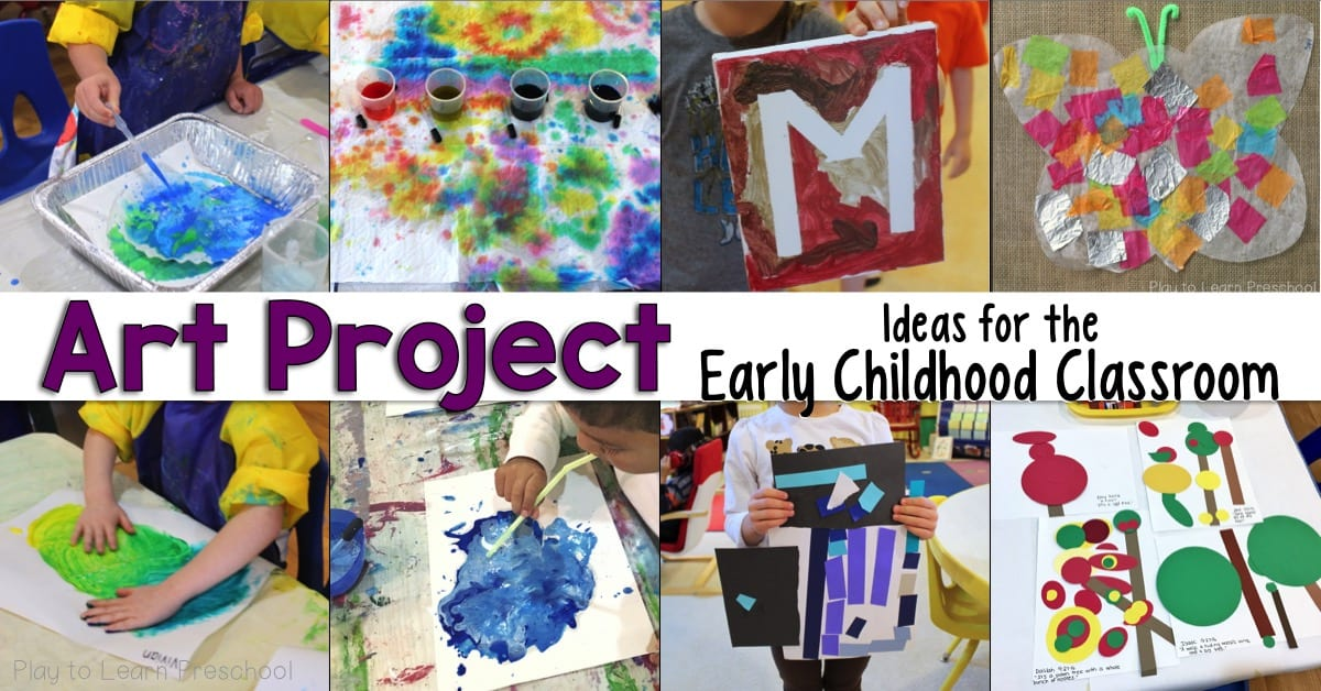 Art Projects for Preschoolers