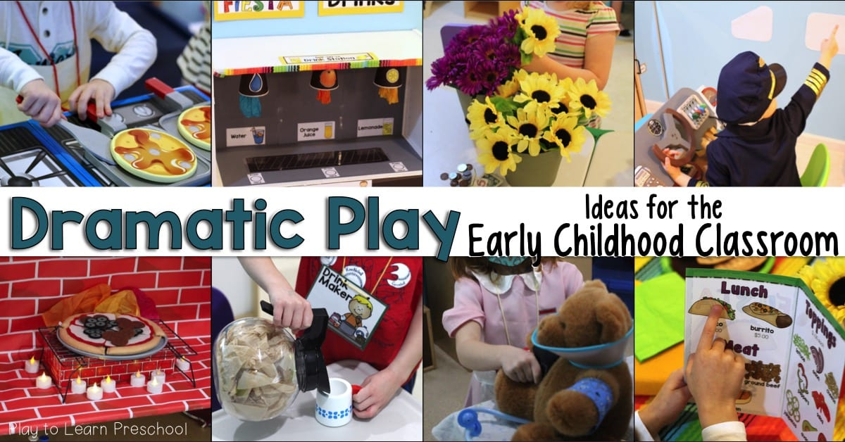Dramatic Play Ideas for Preschool Classroom
