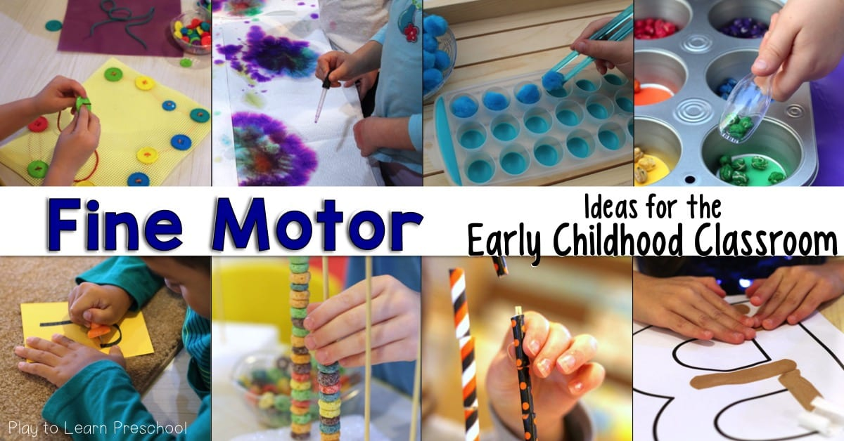 Fruit loop graph and fine motor practice for preschoolers for Fine motor activities for preschoolers