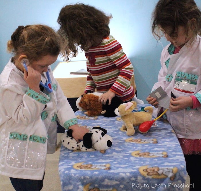Vet Clinic Dramatic Play Center