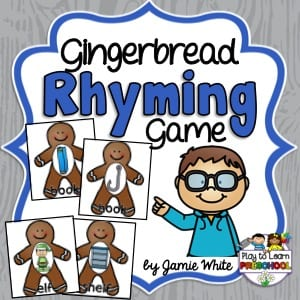 Rhyming Gingerbread