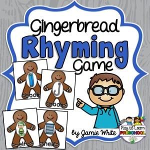 Rhyming Gingerbread