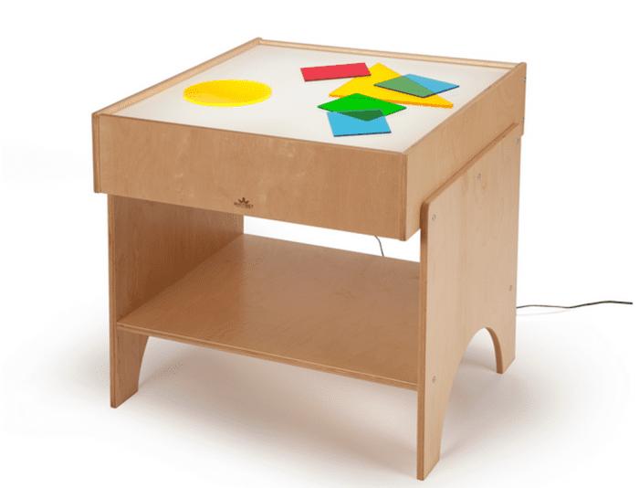 best preschool light table