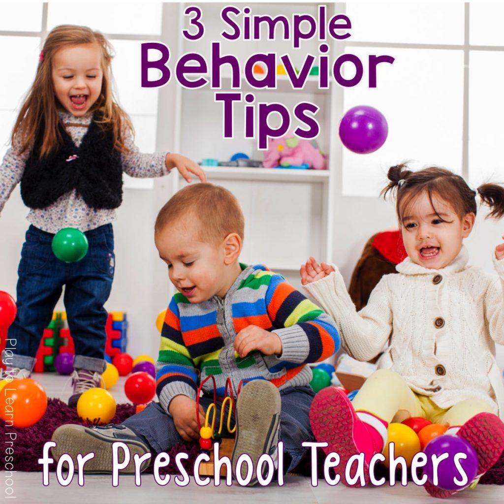 Tips for Better Behavior
