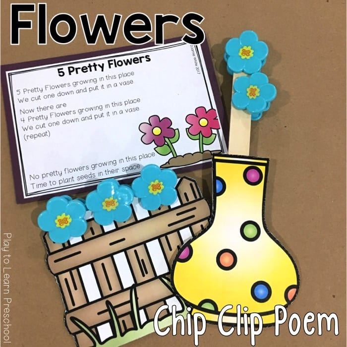 Flower Chip Clip Poem