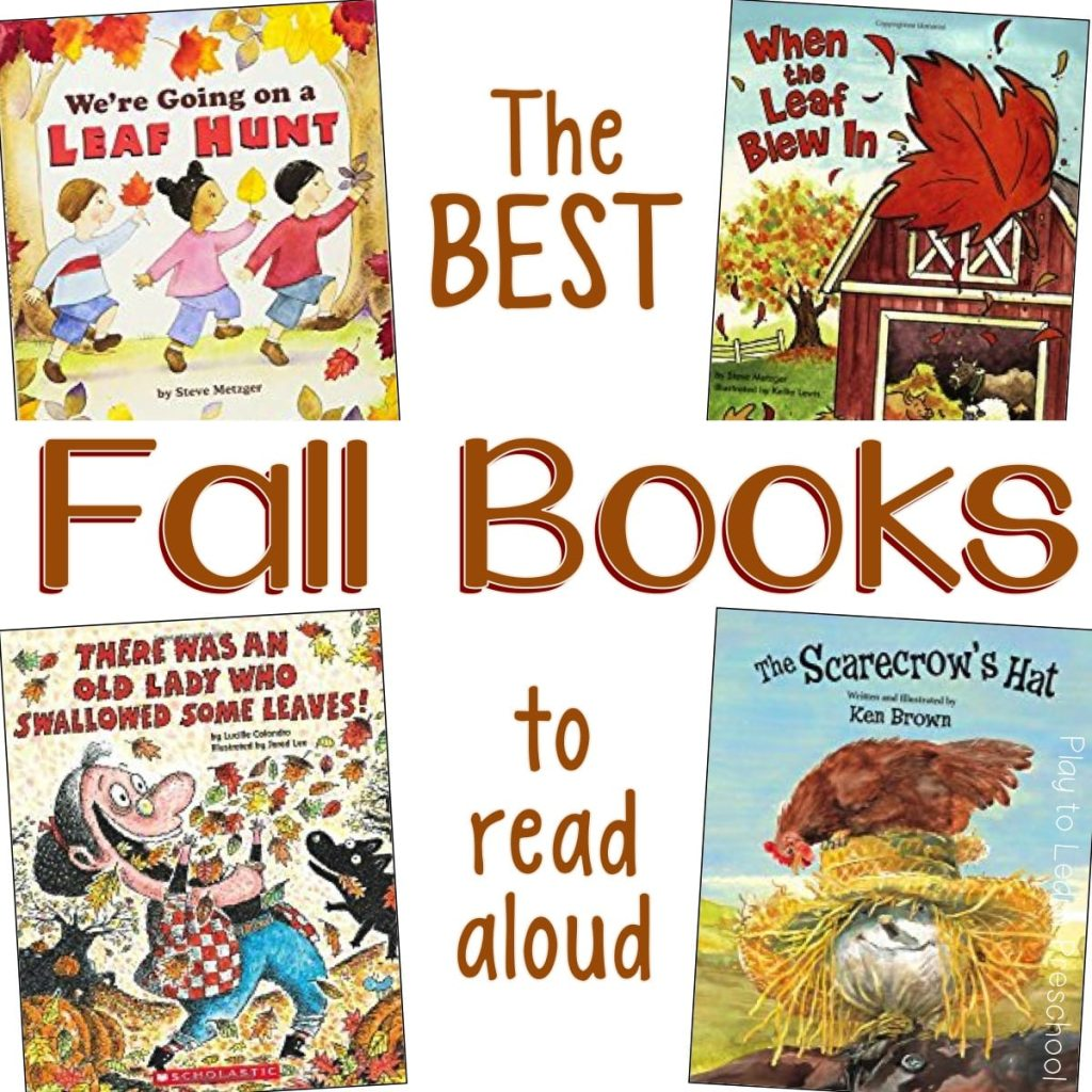 The Best Fall Books for Preschoolers