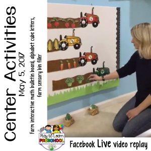 Farm Centers for Preschoolers