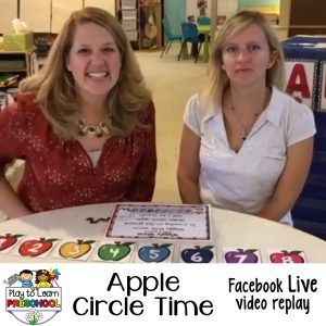 Circle Time Lessons Apples