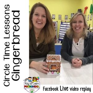 Circle GingerbreadCircle Time Lessons for Gingerbread