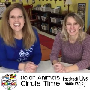 Circle GingerbreadCircle Time Lessons for Polar Animals