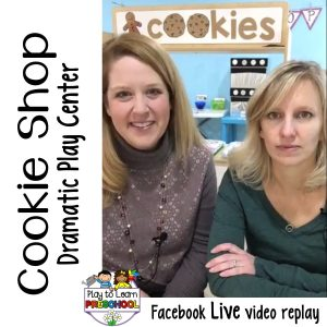 Cookie Shop Bakery Dramatic Play Center Preschool