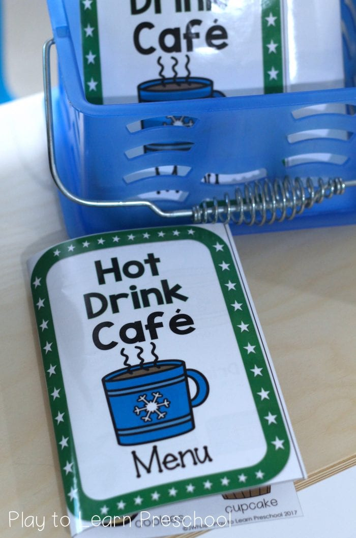 Hot Drink Cafe Dramatic Play Center