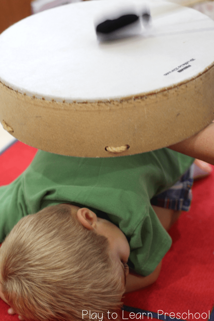 Teach children to Feel the sound vibrations