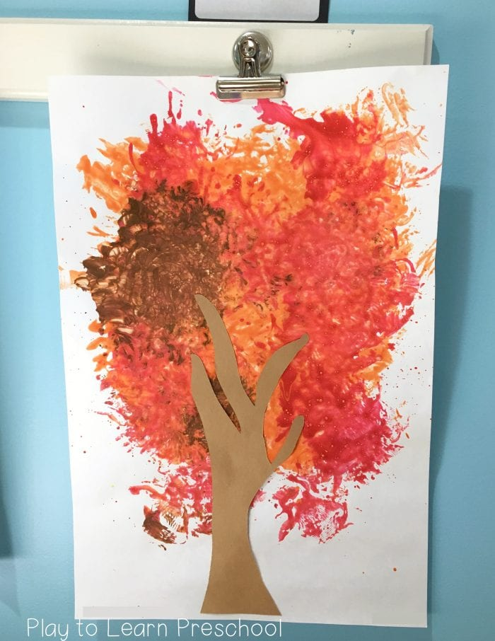 Easy Autumn Print Art